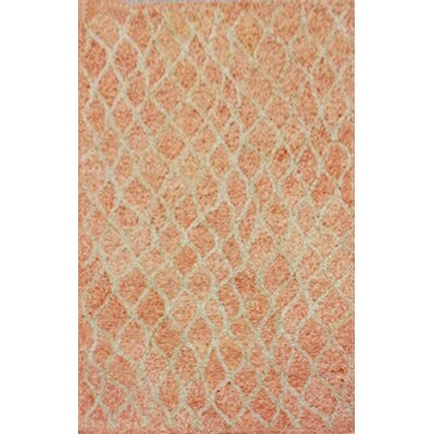 Chamness Hand-Tufted Orange Indoor/Outdoor Area Rug Rug Size: 36 x 56