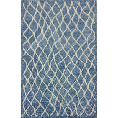 Bogard Hand-Tufted Gray Indoor/Outdoor Area Rug Rug Size: 5 x 76