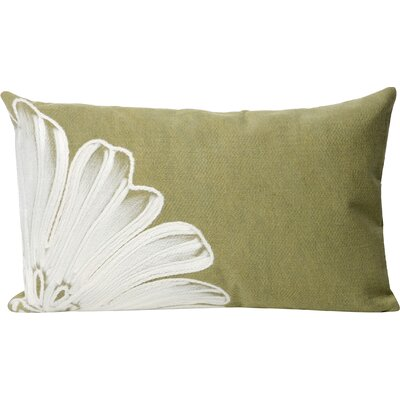 Temple Cloud Antique Medallion Outdoor Lumbar Pillow Color: Green