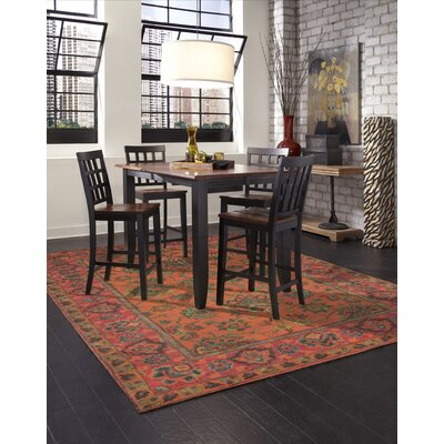 Irwin Agra Orange Area Rug Rug Size: 2 x 3