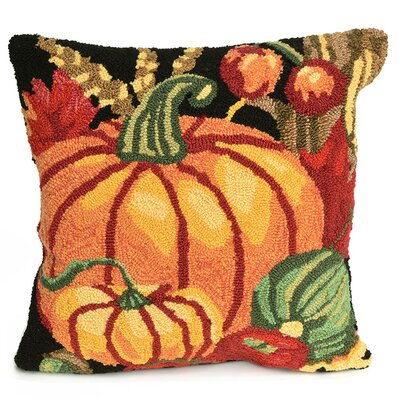 Pumpkin Indoor/Outdoor Throw Pillow