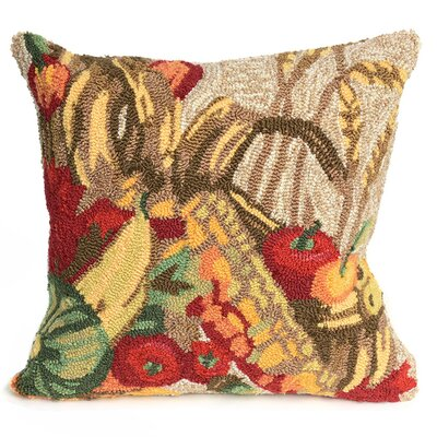 Basket Indoor/Outdoor Throw Pillow