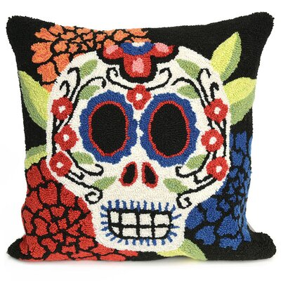 Mrs. Muerto Indoor/Outdoor Throw Pillow