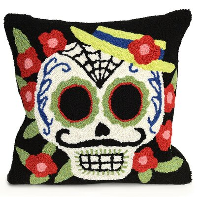 Mr. Muerto Indoor/Outdoor Throw Pillow