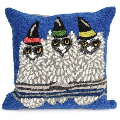 Owl-o-ween Indoor/Outdoor Throw Pillow