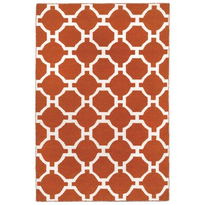 Assisi Tile Hand Woven Red Indoor/Outdoor Area Rug Rug Size: Rectangle 5 x 76
