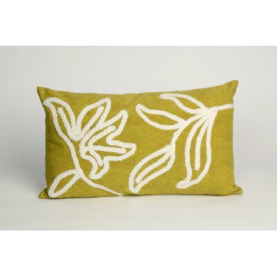 Moana Outdoor Lumbar Pillow Color: Lime