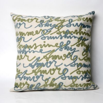 Amour Indoor/Outdoor Throw Pillow Size: 20
