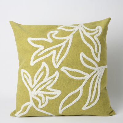 Jema Indoor/Outdoor Throw Pillow Size: 20 x 20, Color: Lime