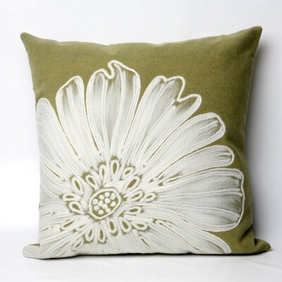 Kaitlyn Antique Medallion Indoor/Outdoor Throw Pillow Size: 20 x 20, Color: Green