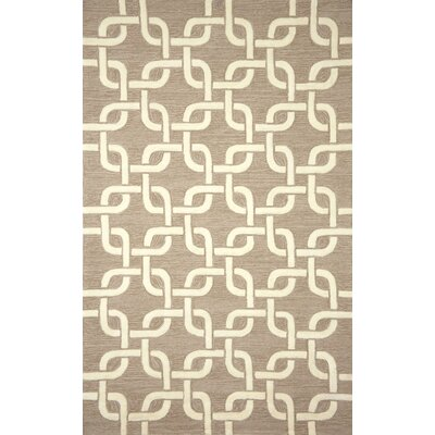 Collingdale Hand Tufted Natural Indoor/Outdoor Area Rug Rug Size: Rectangle 36 x 56