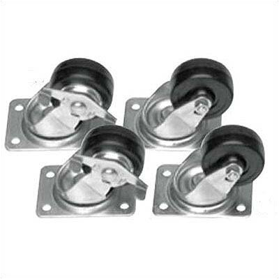 CASTER-CM/3IN - set of four 3 casters Style: Set of four locking commercial casters - 2.5