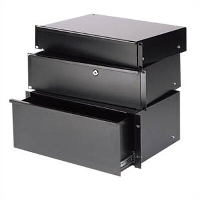 ESD Economy sliding drawer Height: 3 rack spaces
