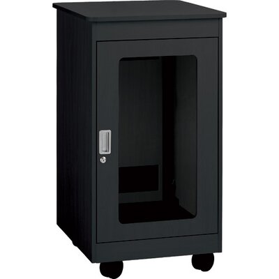 F1 Series Rack Color: Black, Rack Spaces: 12RU