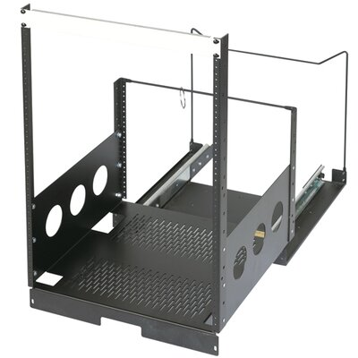 Extra Deep Pull-Out Rack Rack Spaces : 15U Spaces