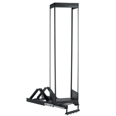 Heavy Duty Pull-Out and Rotating Rack Rack Spaces : 24U