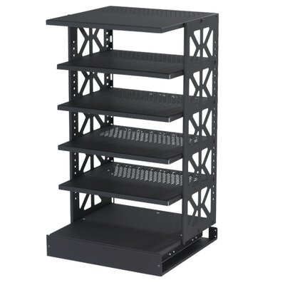 Tall Steel Pull-Out Rotating Shelving Unit Size: 42 H