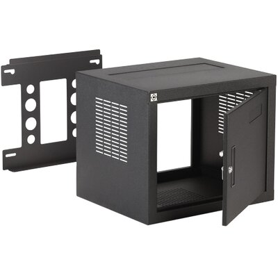 Deep W2 Wall Rack Rack Spaces: 8U Spaces