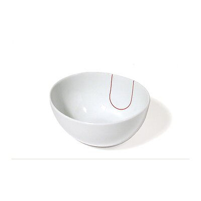 Five Senses Touch! Red Cereal Bowl (set Of 6)