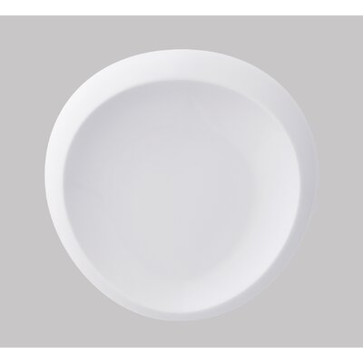 Tao 8.5 Flat Plate In White (set Of 6)