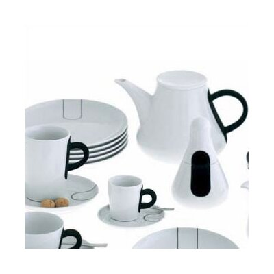 Kahla-five Senses Touch! Black 3 Oz. Espresso Cup