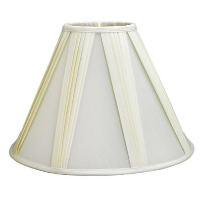 12 Shantung Soft Empire Lamp Shade Color: White