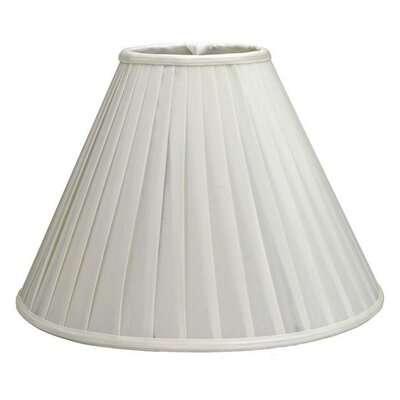 18 Shantung Soft Empire Lamp Shade Color: White