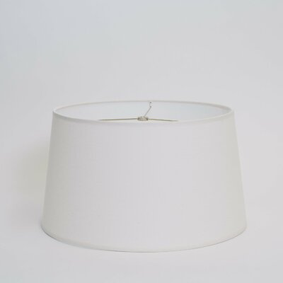 Chapel Bridge Lighting 14 Linen Drum Lamp Shade Color: Cream