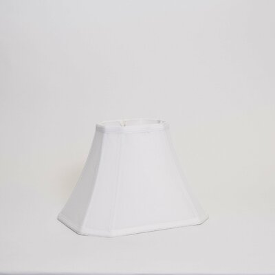 12 Shantung Soft Bell Lamp Shade Color: White