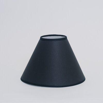 Dulcote 21 Paper Empire Lamp Shade Color: Black Dulcote with White Interior