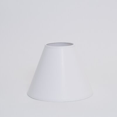 Dulcote 21 Paper Empire Lamp Shade Color: White Dulcote with White Interior