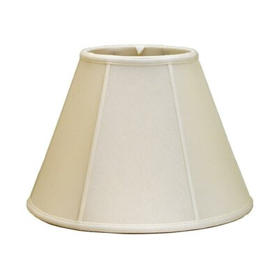 16 Shantung Soft Bell Candelabra Shade Color: White