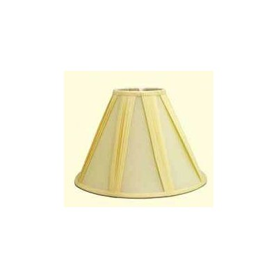 12 Shantung Soft Empire Lamp Shade Color: Black