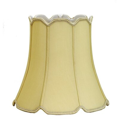 14 Shantung Soft Bell Lamp Shade Color: Black