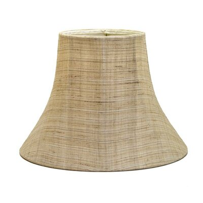 16 Shantung Soft Bell Lamp Shade Color: Linen