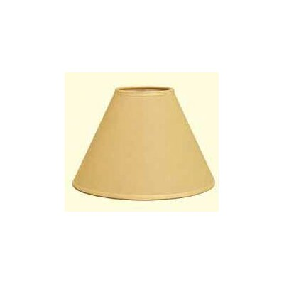Hardback 6 Linen Empire Lamp Shade Color: Onion Skin