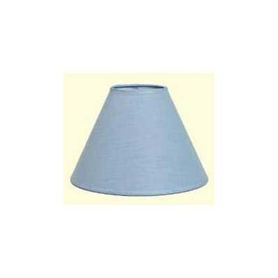 Hardback 9 Linen Empire Lamp Shade Color: Federal Blue