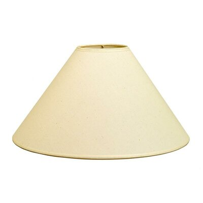 18 Linen Empire Lamp Shade Color: Natural