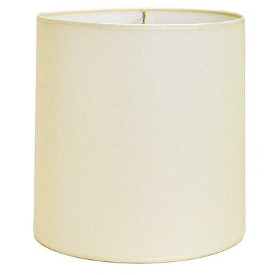"""Deran Lamp Shades 15"""" Hard Back Linen Cylinder Lamp Shade - Color: Kraft at Sears.com"""