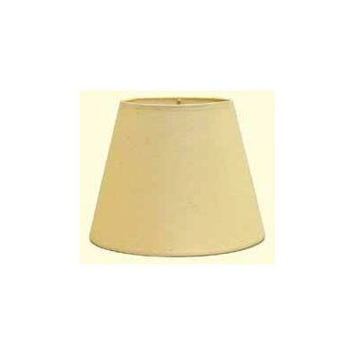 Hardback 12 Linen Empire Lamp Shade Color: Natural / Brown Soutache