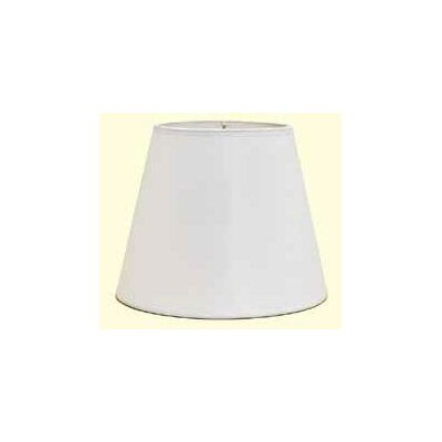 Dulcote 16 Paper Empire Lamp Shade Color: Black Dulcote with White Interior
