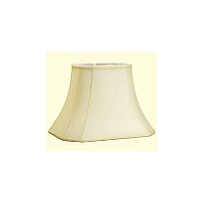 16 Shantung Soft Bell Lamp Shade Color: Black
