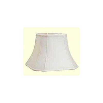 17 Shantung Soft Bell Lamp Shade Color: White