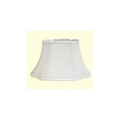 15 Shantung Soft Bell Lamp Shade Color: White