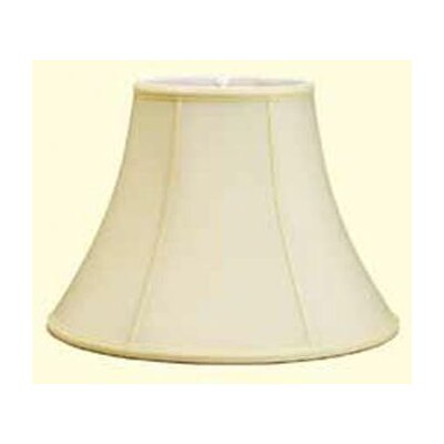 Traditional 12 Shantung Soft Bell Lamp Shade Color: White