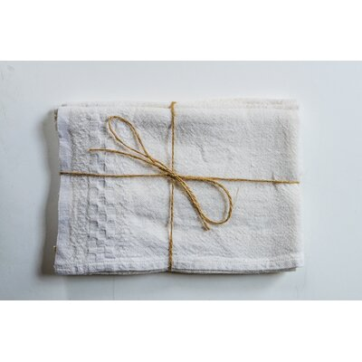 Hotel Dobby Hand Towel Color: Ivory