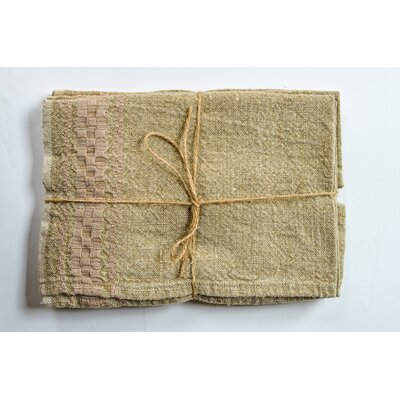 Hotel Dobby Hand Towel Color: Natural