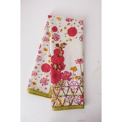 Fleur Sauvage Hand Towel Color: Multi