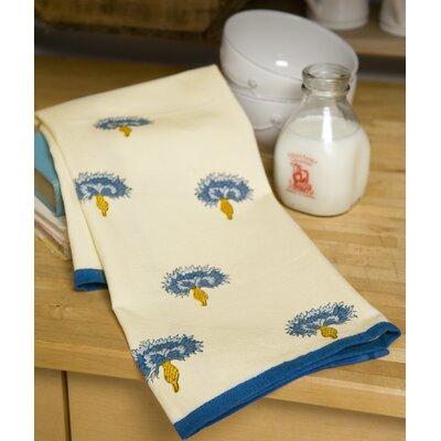 Bleuet Blue Green Tea Towel