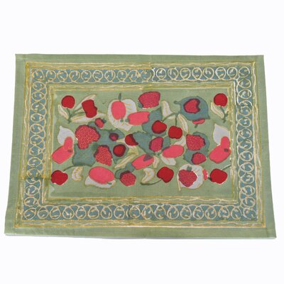 Furniture-Fruit Placemat Color Red